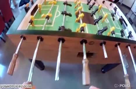 Alexis Adams променяла настольный футбол на трах