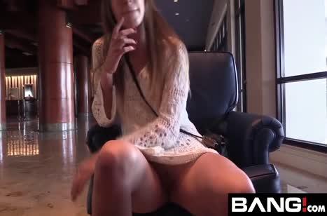 После милого свидания Zoey Laine раскрутили на порно