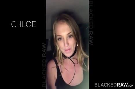 Chloe Scott снимает с негром жесткое любительское порно